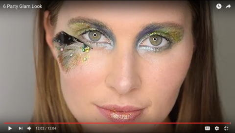 Party Glam Look Demonstration Video
