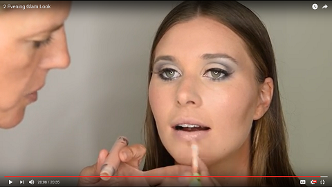 Evening Glam Look Demonstration Video