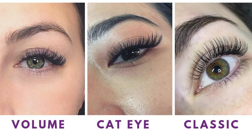 Eyelash Extension Types